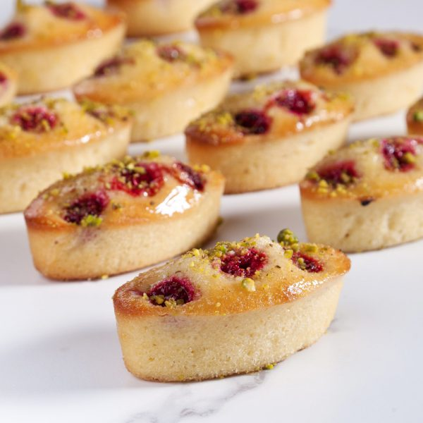 Post image for Raspberry & Pistachio Friands (Box of 14)